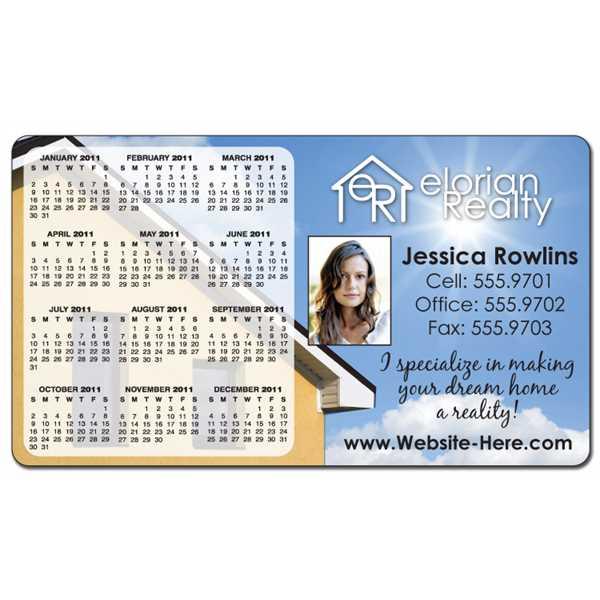 Calendar Magnet - 4x7