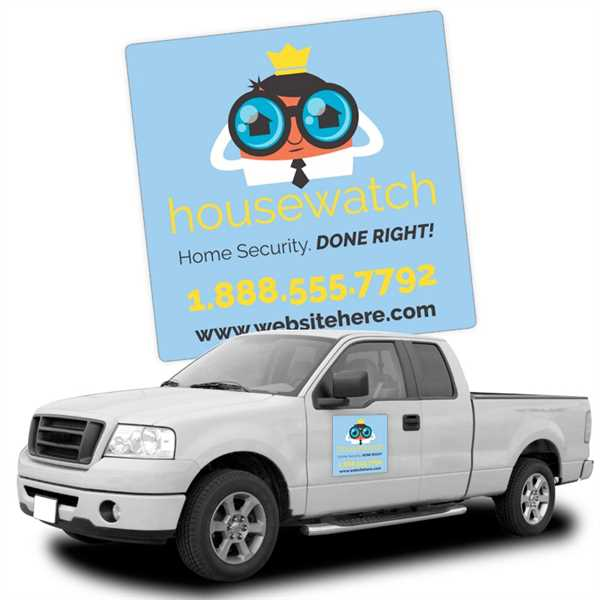 Magnetic Car/Truck/Auto/Vehicle Signs -