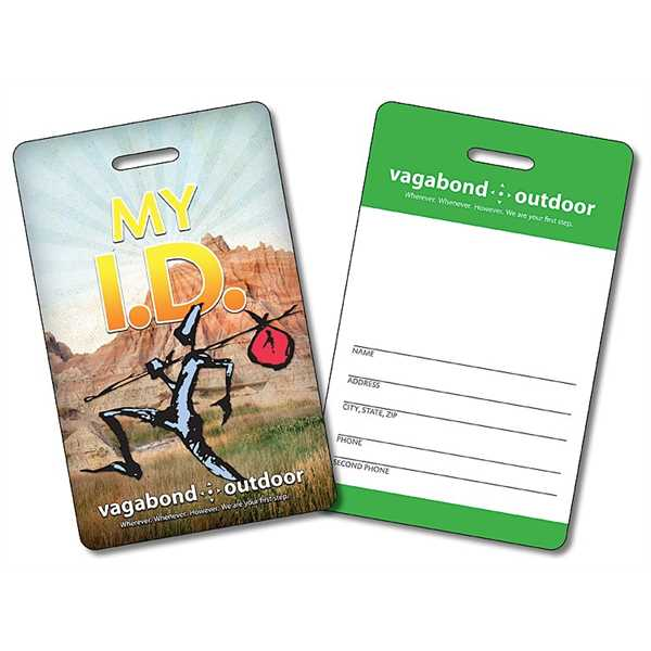 Laminated I.D./Wallet Card with