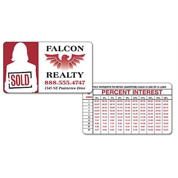 UV-Coated (1S) Business Card