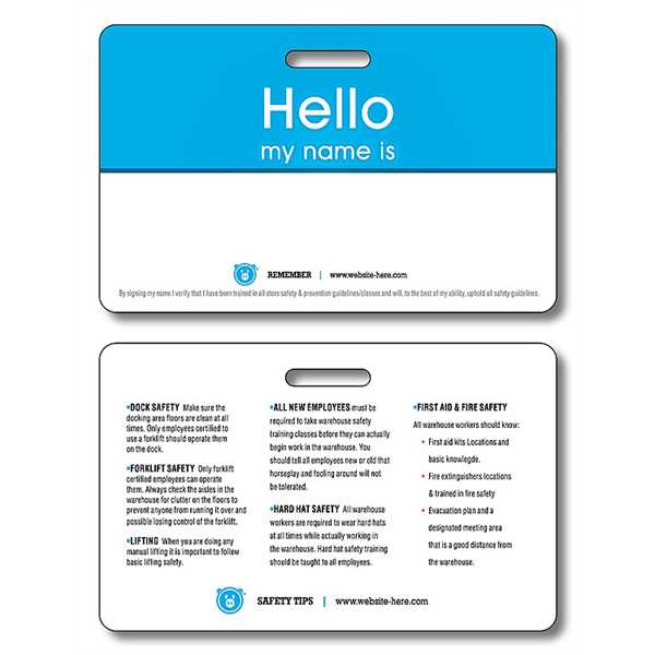 Extra-Thick Laminated I.D./Wallet Card
