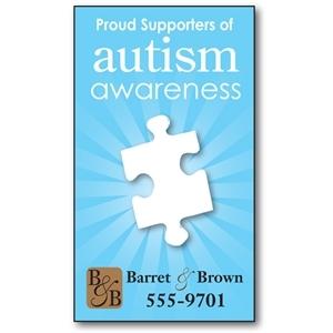 Awareness Business Card Magnet