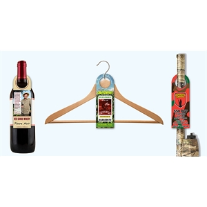 Bottle Hanger - Laminated