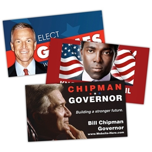 Political Business Card Magnet