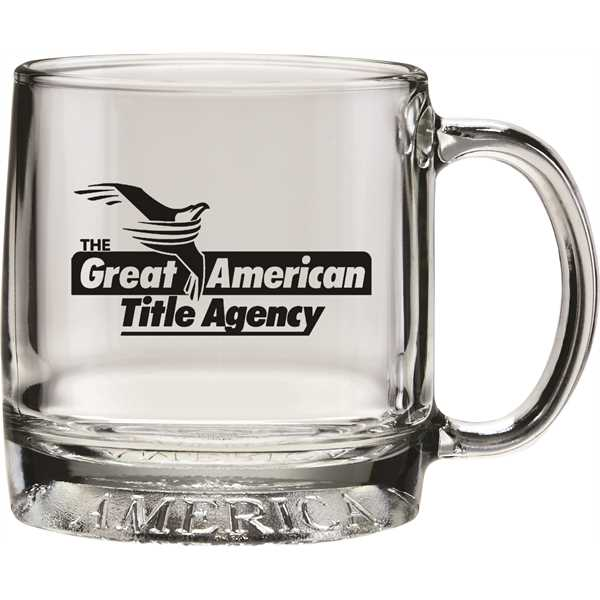12 oz. glass mug
