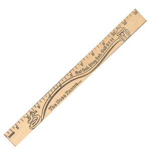 Promotional Rulers/Yardsticks, Measuring-90611