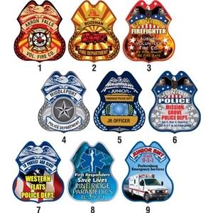 Junior badge with clip