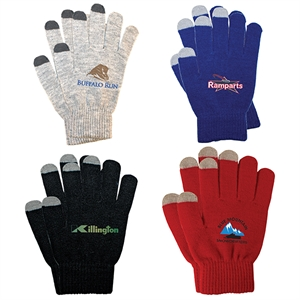 Touch screen gloves with