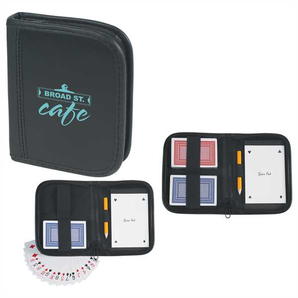 Playing card set with