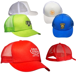 Custom Mesh Trucker Caps - Promotional Printed Mesh Trucker Caps ... c0fe9f4c52e