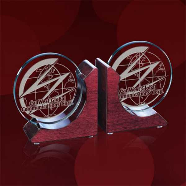 Starfire/Rosewood book ends, 10