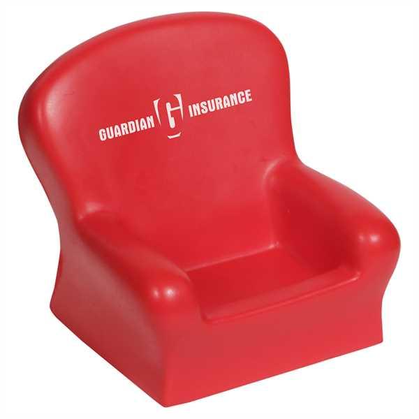 Chair shape desktop bin