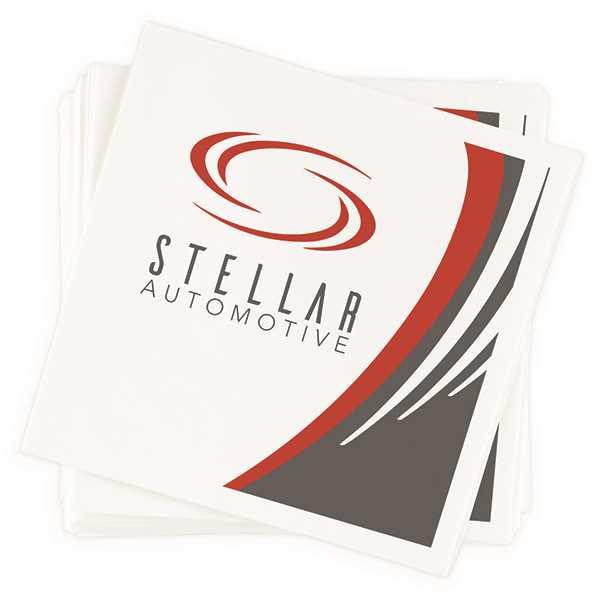 Showcase a full-color logo,