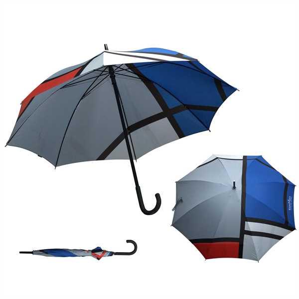 MoMA Mondrian Stick Umbrella