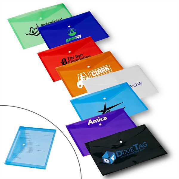 Polypro envelope features a