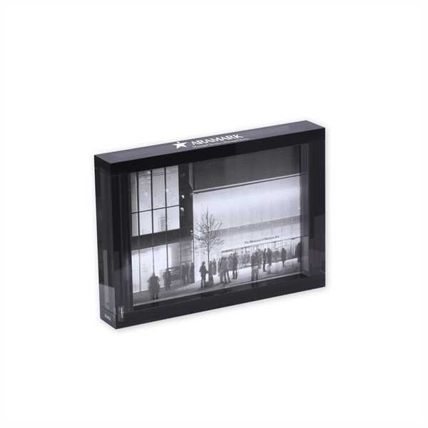 Double-sided transparent acrylic photo