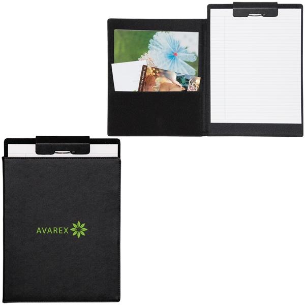 Black clipboard/pad holder.