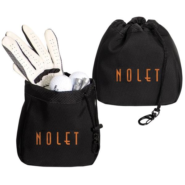 Golf accessory bag made