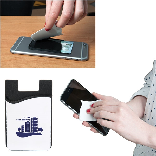 Smart phone wallet with