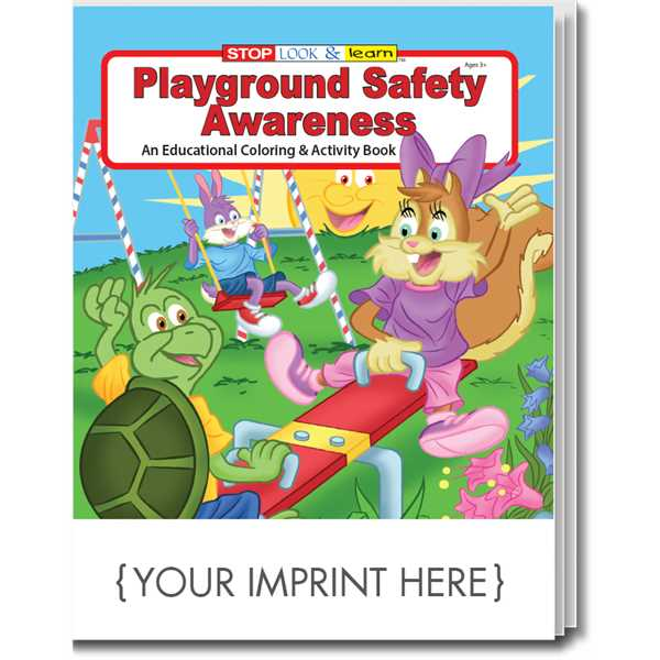 Playground Safety coloring book.