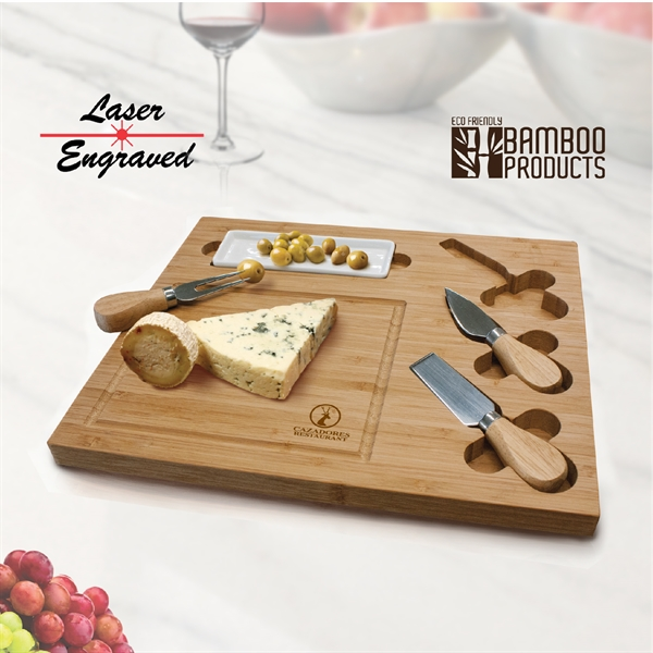Rectangular serving tray/cutting board