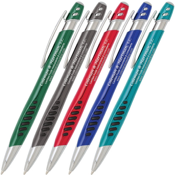 Retractable ballpoint pen with