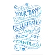 Birthday card with