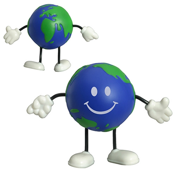 Earth ball figure stress
