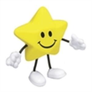 Star figure shape stress