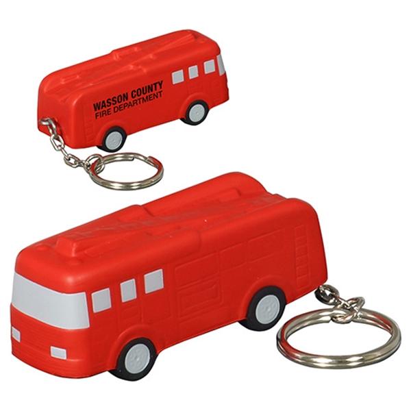 Polyurethane fire truck key