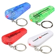 Whistle key chain with