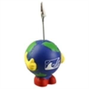 Earth ball man shape
