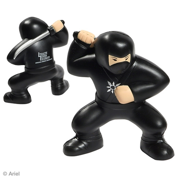 Ninja shape stress reliever.