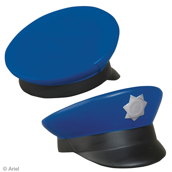 Police cap shape stress