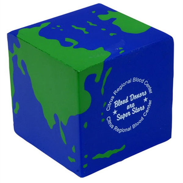 Earth cube shape stress