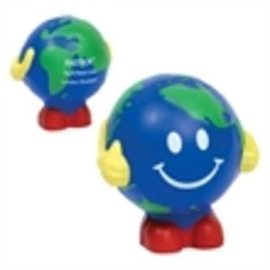 Earth ball man stress