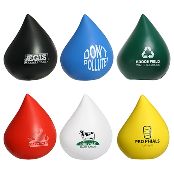 Droplet shape stress reliever,