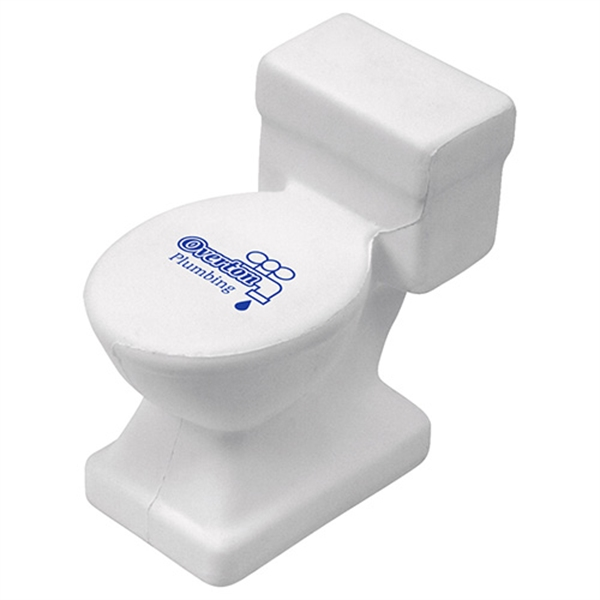 Toilet shape stress reliever.
