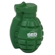 Grenade shape stress reliever.