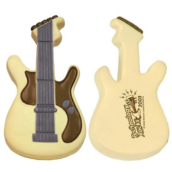 Electric guitar shape stress