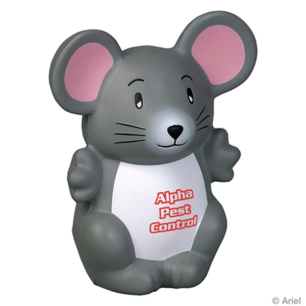 Mouse shape stress reliever.