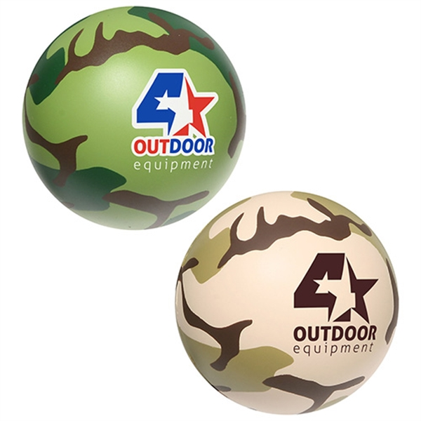 Military camouflage stress reliever