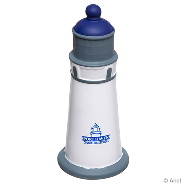 Lighthouse shape stress reliever;