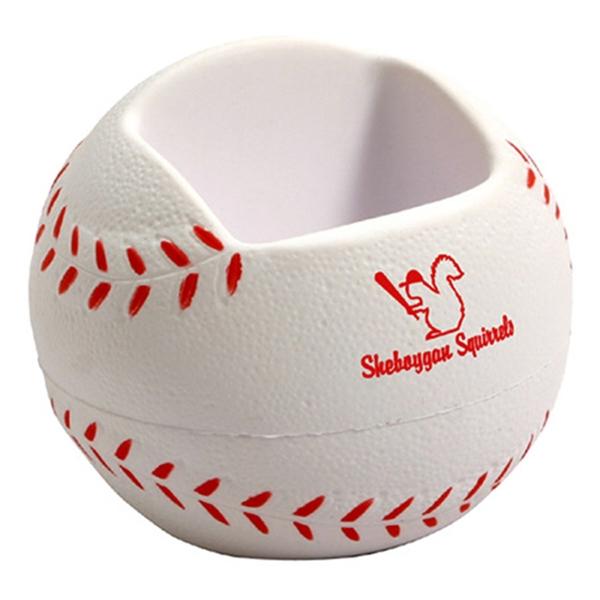 Baseball desktop bin /