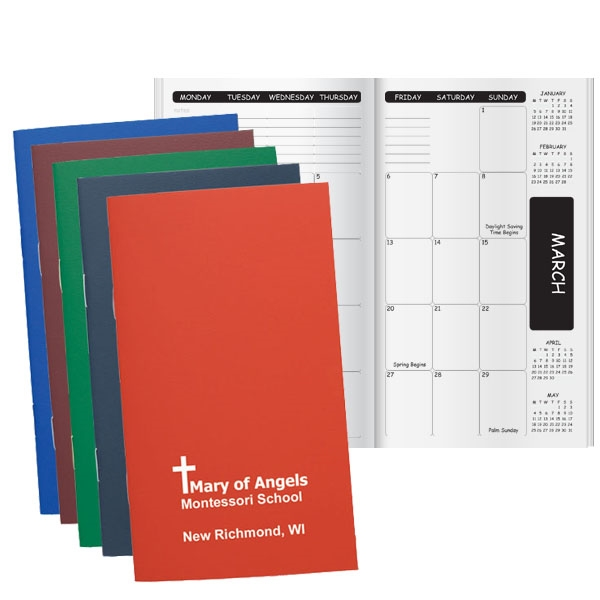 Pocket planner with a