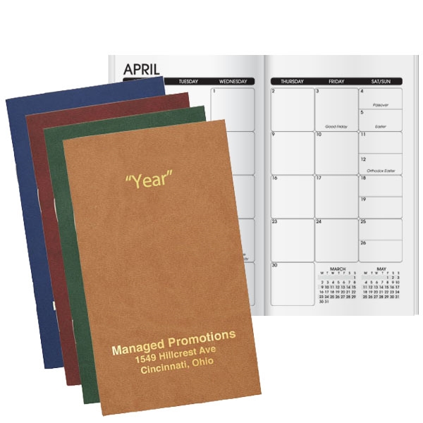 Monthly planner with a