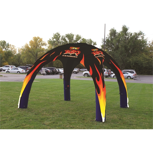 11' x 11' inflatable