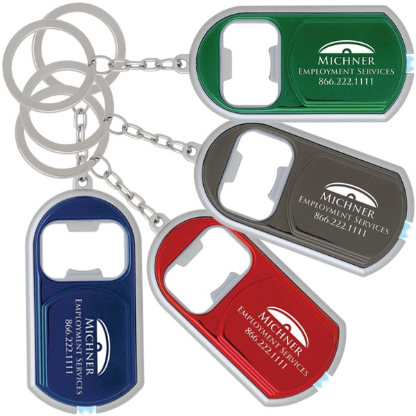 3-In-1 key ring. Key