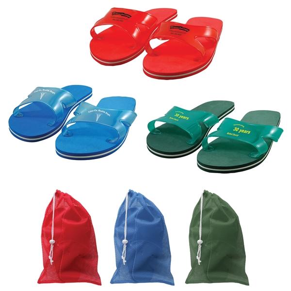 Customizable sport flip flops,