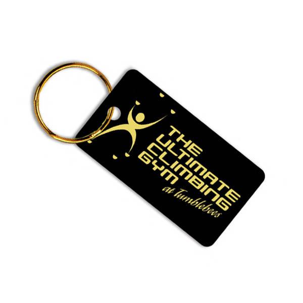 Plastic medium key tag